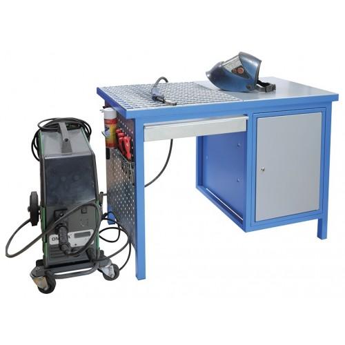 Pracovný stôl na zváranie a brúsenie