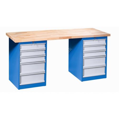 Dielenský pracovný stôl VARIANT 2Z5
