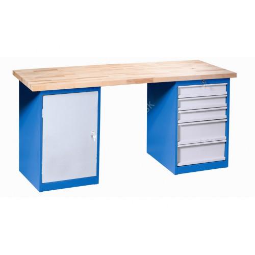 Dielenský pracovný stôl VARIANT D2Z5