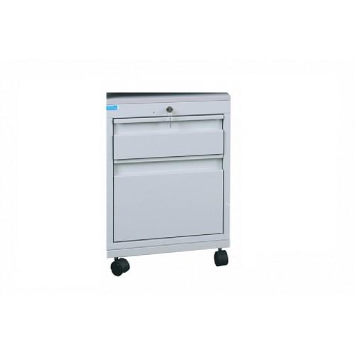 Stolový kontajner 2 – zásuvkový na kolieskach
