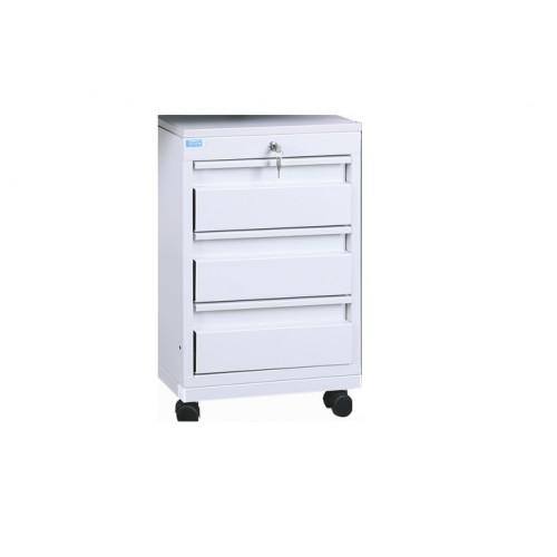 Stolový kontajner 3 – zásuvkový na kolieskach